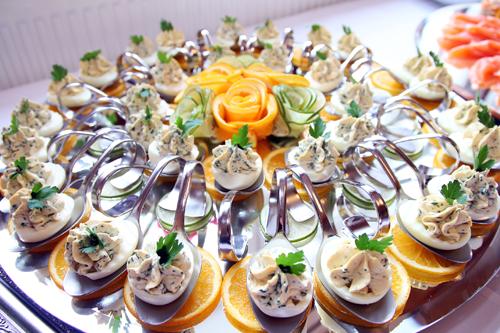 gefüllte eier - hochzeit in isenbüttel
