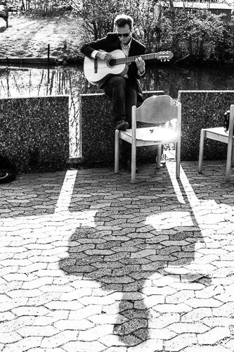 gitarrenspieler - eventfotografie in osnabrück