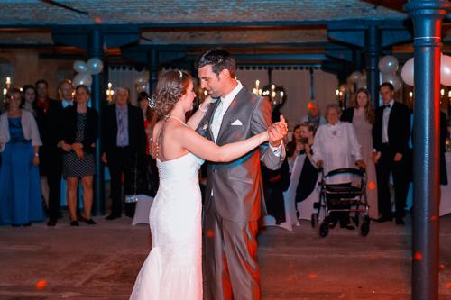 Brautwalzer auf der Hochzeit