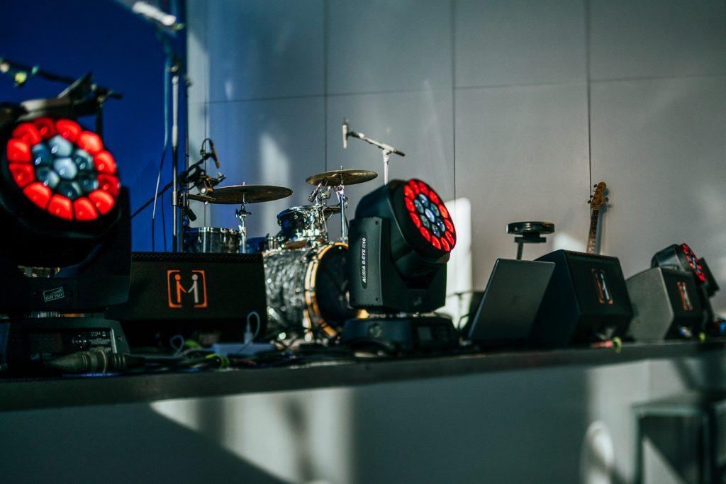 Bühne auf Messe Hannover
